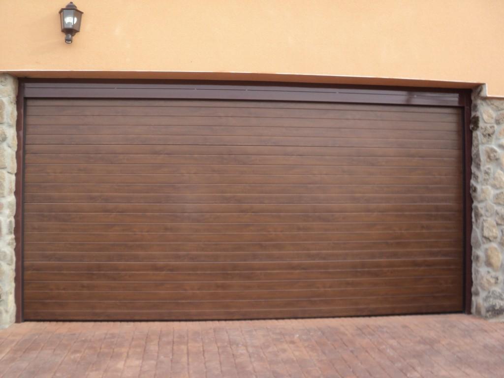 puertas seccionales garajes madrid