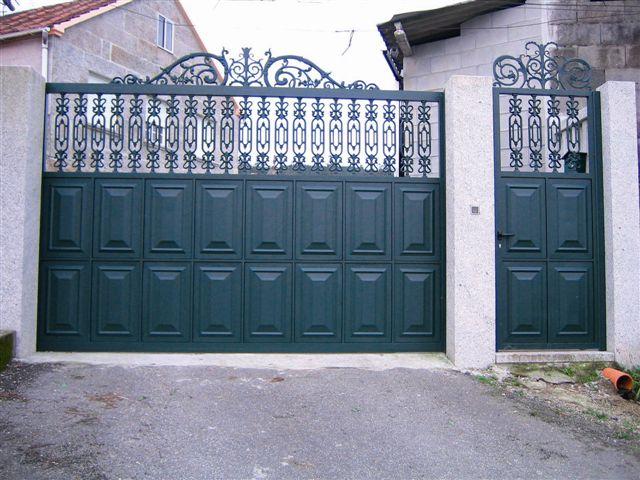 puertas aluminio soldado madrid
