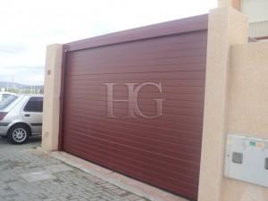 puertas de garaje domésticas